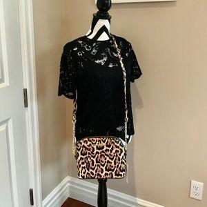 ❤️Steve Madden Leopard print Bag! NWT